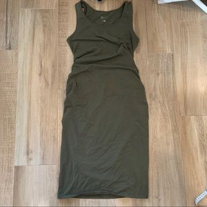 Isabel Maternity Bodycon tank dress